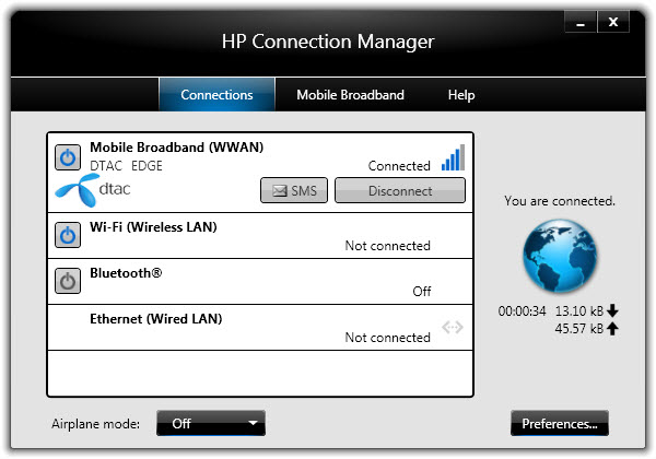 Implementer Limited | Truemove H กับ HP Connection Manager