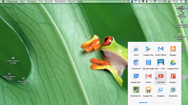 chrome app launcher on mac