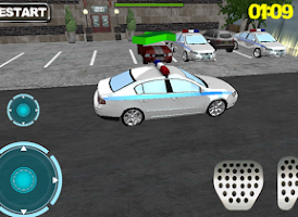 Screenshot of Ultra 3D police Car parking