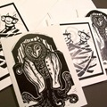Linocut Card Assortment