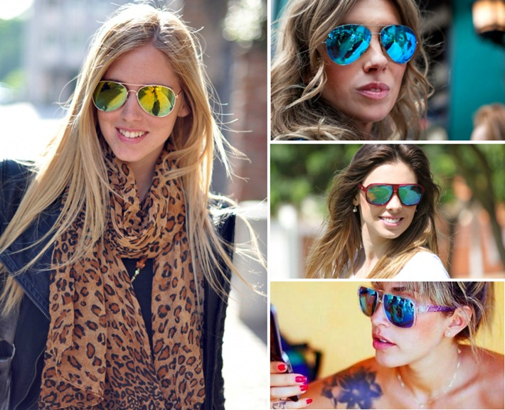 37f872c1af971 Óculos de Sol Feminino – Modelo Espelhado é tendência no verão ...
