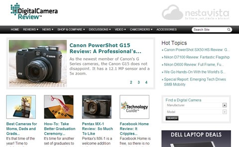 Digital Camera Resource Page