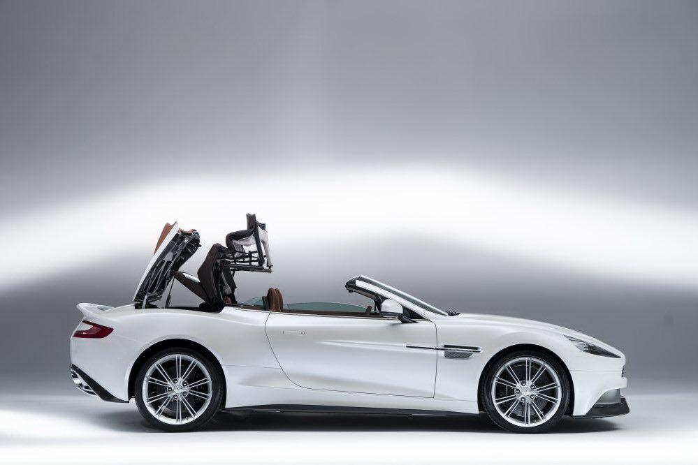 2014 Aston Martin Vanquish Volante Convertible Detaylandı! (Fotoğraf