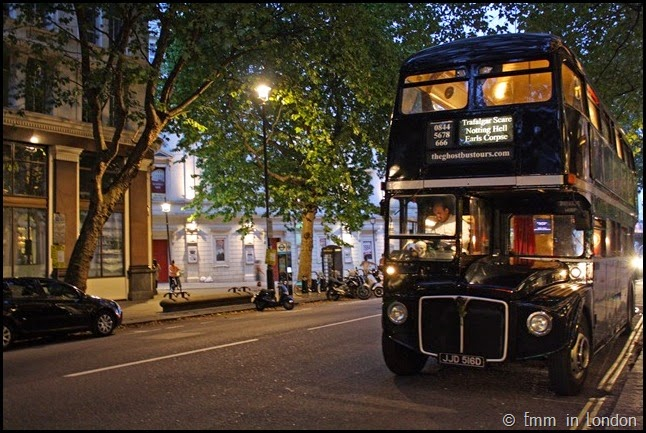 The London Ghost Bus Tour