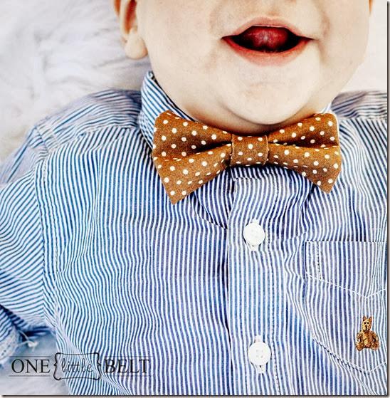 caramel-dot-bow-tie