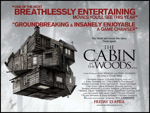 THE CABIN IN THE WOODS ©Lionsgate