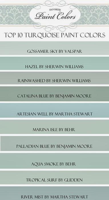 Favorite Paint Colors November 2013