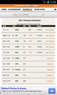 Clemson Football & Basketball - screenshot thumbnail