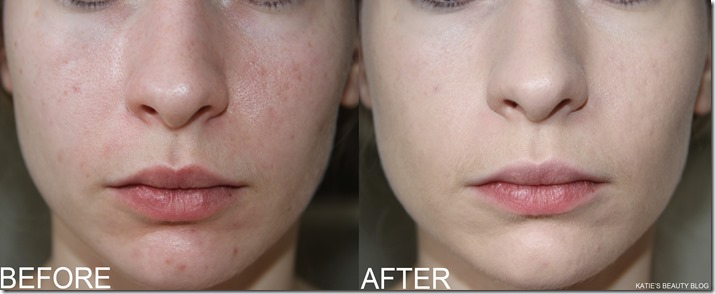 CLARINS FOUNDATION BEFORE AFTER1