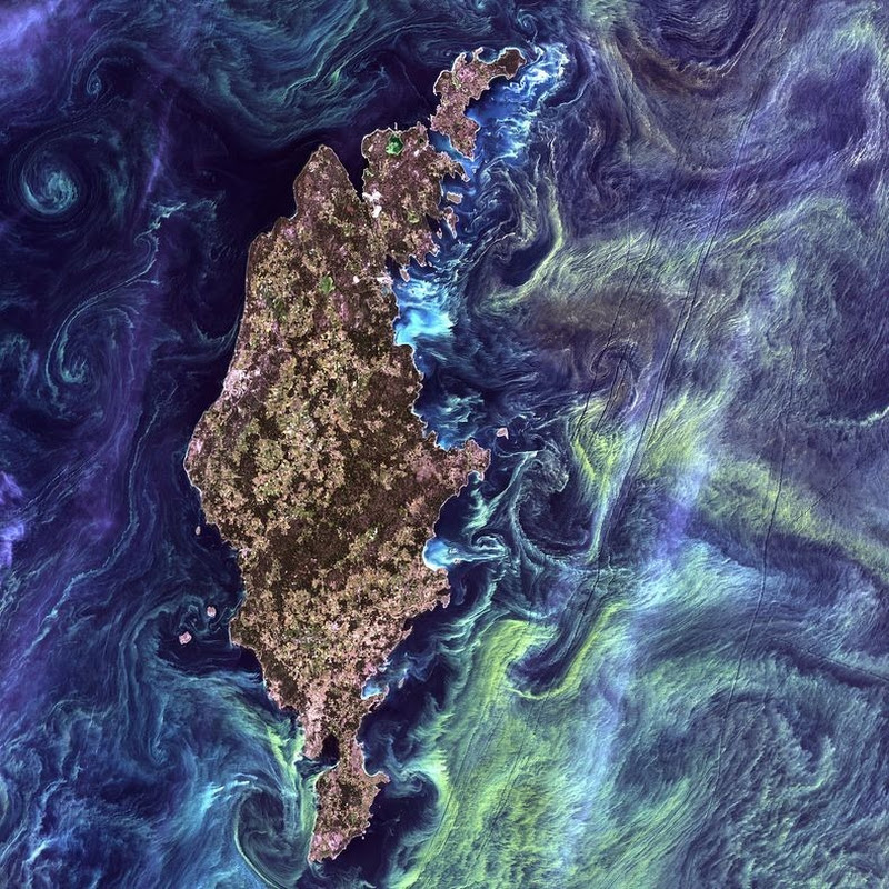 Earth as Art: The Most Beautiful Landsat Satellite Images