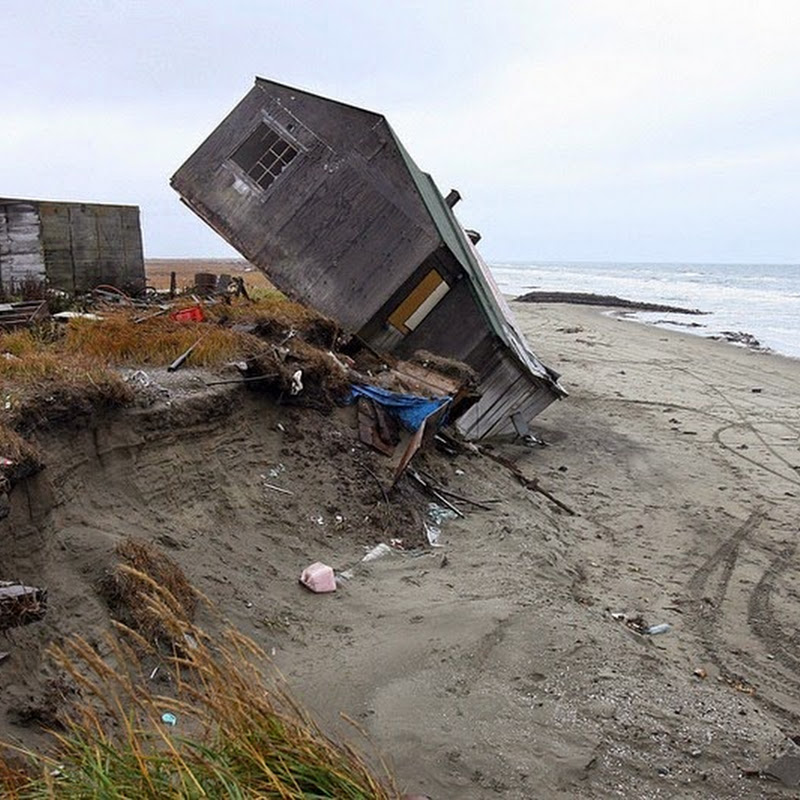 The Eroding Alaskan Village of Shishmaref