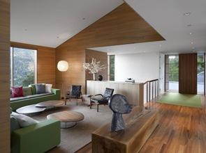interior vivienda ecologica bioclimatica y moderna