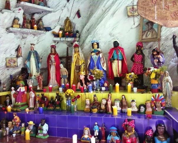 Resultado de imagen para Altar de María Lionza sorte