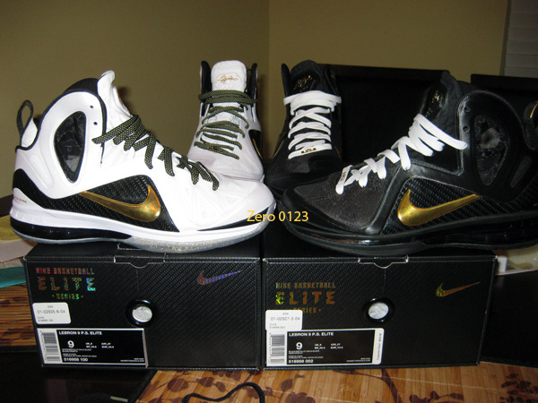 save off b724b 1ebc1 Lace Swap Nike LeBron 9 PS Elite Home with Away Kevlar Laces .
