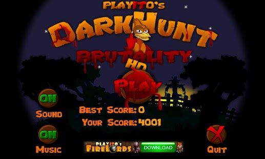 DarkHunt HD: Brutality- screenshot thumbnail