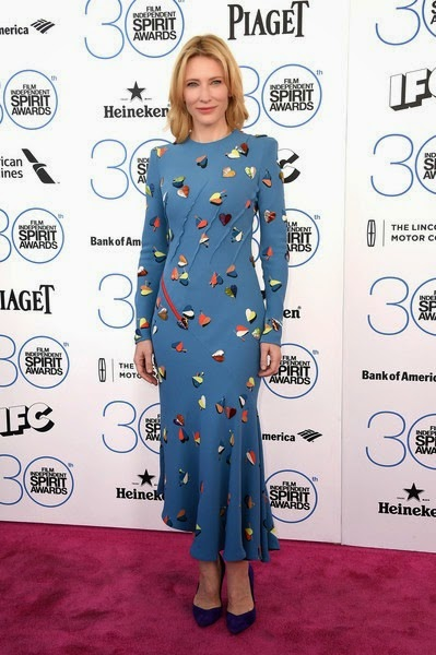 Cate Blanchett attends the 2015 Film Independent Spirit Awards