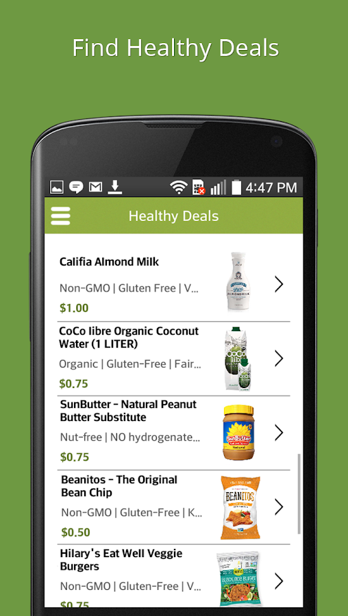 BerryCart - Healthy Coupons- screenshot