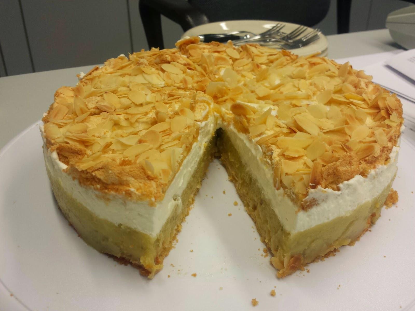 Annis Tortentraume Stachelbeer Baiser Torte Oder Auch