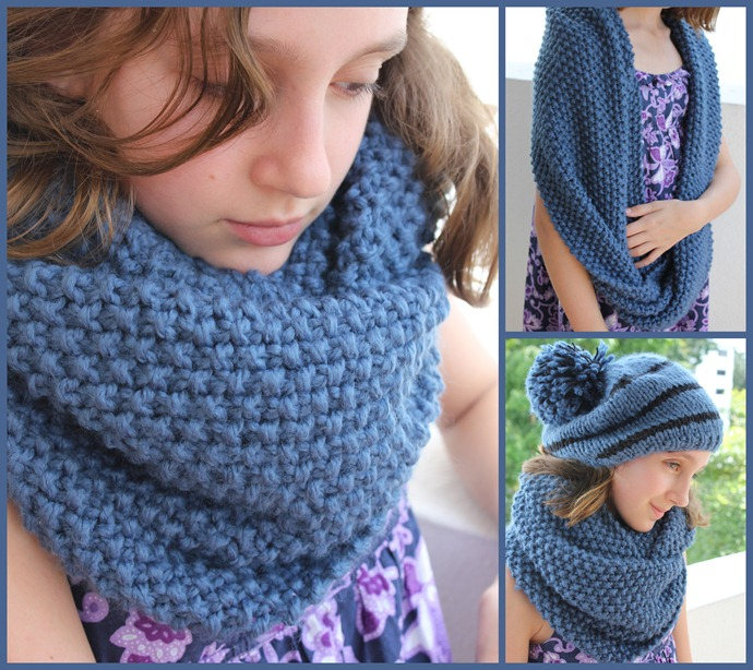 Cowl and hat for Maud