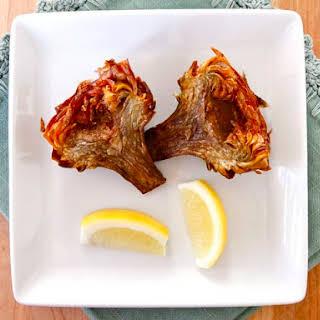 Jewish Fried Artichokes.