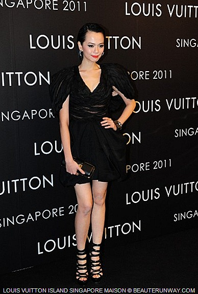 LOUIS VUITTON ISLAND SINGAPORE MAISON  Felicia Chin