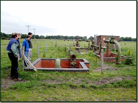 Brine pumping 'furniture'