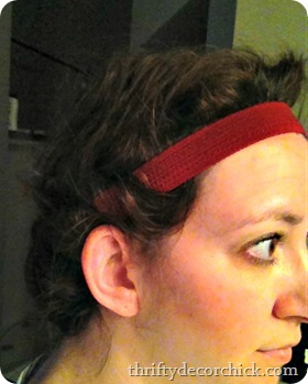 no heat curl headband