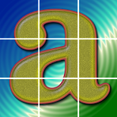 SquareRoll - Alphabet