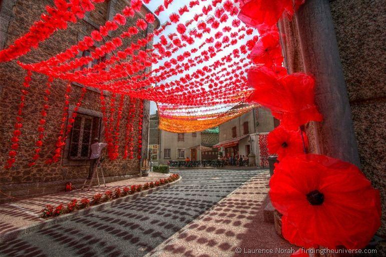 Piegut Felibre flower street