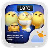 CuteChicken Free Theme Weather