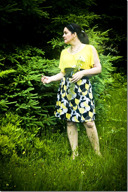 yellow dress_3556