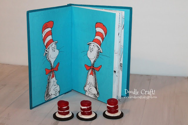 a the cat in the hat hat snack cookies treats dr seuss day