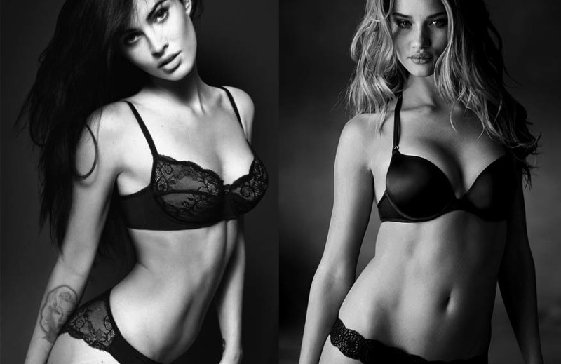 Megan fox Rosie Huntington