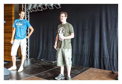 Big Äppel - Ein Tag davor - Daniel und Sven