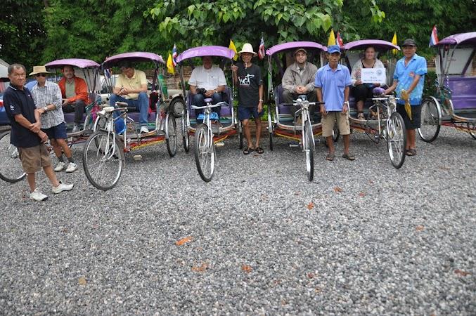 Imagini Thailanda: Pornire in plimbarea cu tuk tuk-ul prin Chiang Rai, THailanda