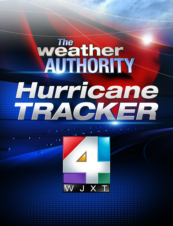 WJXT Hurricane Tracker - screenshot