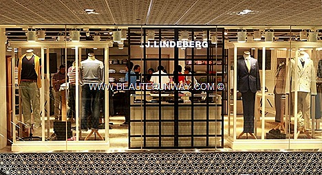 J.LINDEBERG MENSWEAR SINGAPORE FLAGSHIP STORE OPENS AT MANDARIN ORCHARD HOTEL GRY