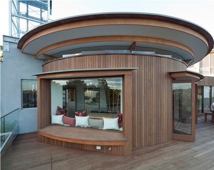 casa-circular-de-madera-arquitectura-contemporanea