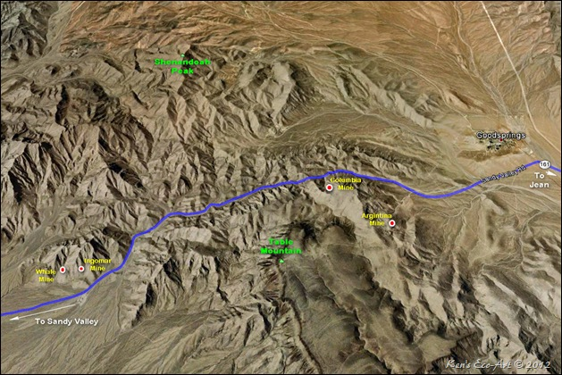 MAP-Sandy Valley Rd
