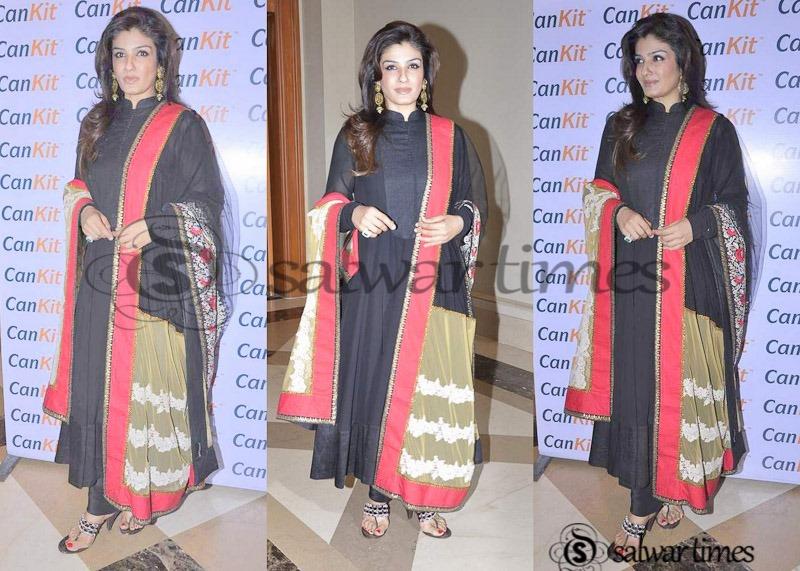 0207d413fb Raveena Tandon Salwar Kameez Collection | salwartimes.com-Your Daily ...