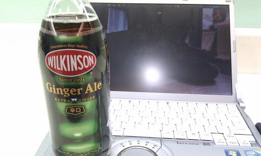 [写真]ついに登場したウィルキンソン・ジンジャーエール(ペットボトル)