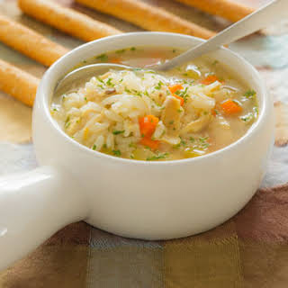 Chicken Rice Soup.