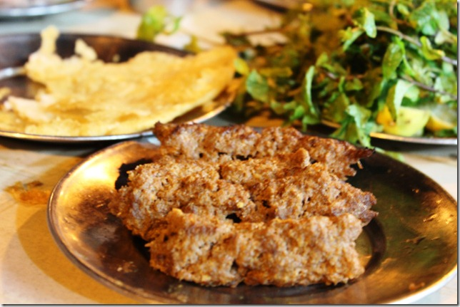 beef seek and parathas