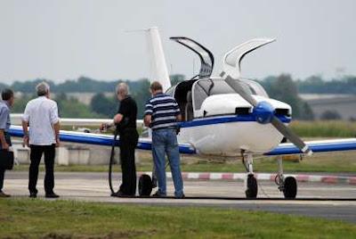 A private airplane