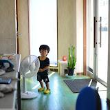 1歳8ヶ月の兄・好きなモノは扇風機