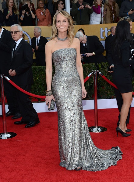 Helen Hunt attends the 19th Annual Screen Actors Guild Awards