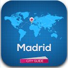 Madrid Guide, Hotels, Weather icon