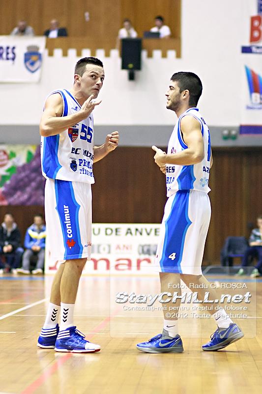 Branko Cuic & Daniel Tudosă / BC Mureș - SCM U Craiova, 12 noiembrie 2012