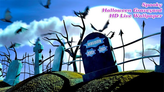 Spooky Halloween Graveyard 3D- screenshot thumbnail