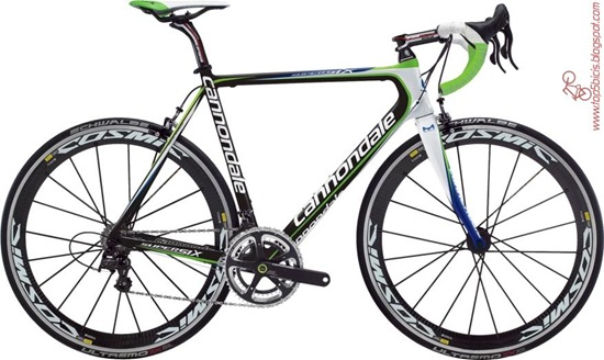Cannondale SuperSix Hi-MOD Team 2012